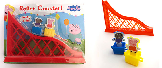 Covermount - Peppa Pig Roller Coaster